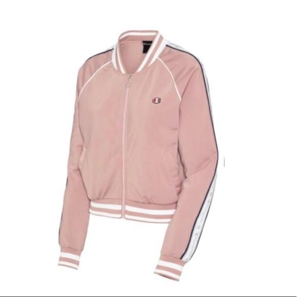 f63e2a82449 Champion Jackets   Blazers - Champion® NEW Pink Women s Track Jacket